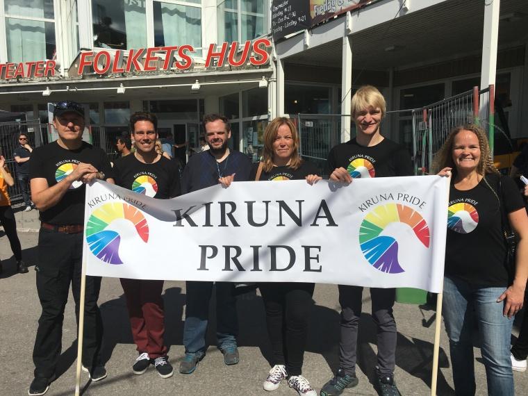 Kiruna Prides styrelse 2016